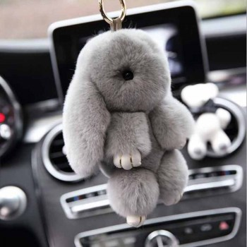 Cute-Bunny-Keychain-Women-Fur-Pom-Rabbit-Key-Ring-Hare-Pompom-Dolls-Toy-Car-Key-Pendant