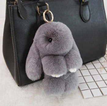 bunny-keychain-cute-fluffy-rex-rabbit-fur