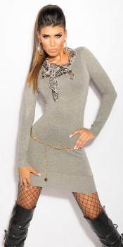 ooKouCla_Longsweater_with__Leo-scarf__Color_GREY_Size_Onesize_0000ISF8024_GRAU_31