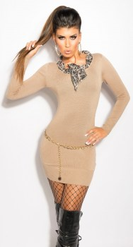 ooKouCla_knit-dress_with__Leo-scarf__Color_BEIGE_Size_Onesize_0000ISF8024_BEIGE_5