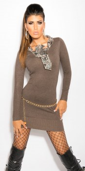 ooKouCla_knit-dress_with__Leo-scarf__Color_CAPPUCCINO_Size_Onesize_0000ISF8024_CAPPUCCINO_21