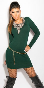 ooKouCla_knit-dress_with__Leo-scarf__Color_GREEN_Size_Onesize_0000ISF8024_GRUEN_37