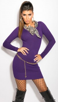 ooKouCla_knit-dress_with__Leo-scarf__Color_PURPLE_Size_Onesize_0000ISF8024_LILA_47